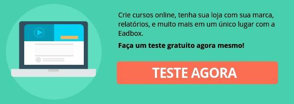 Criar teste gratuito da plataforma EAD Eadbox.
